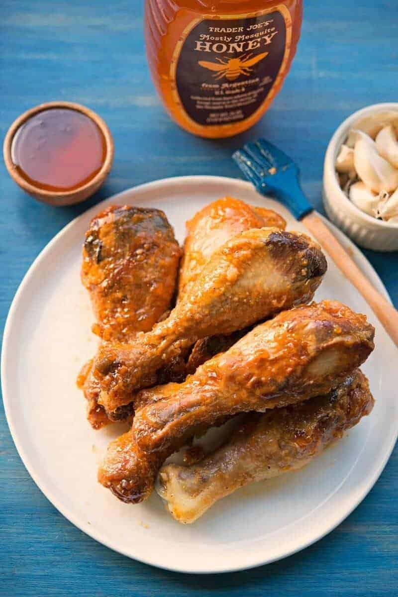 Paleo Friendly Honey Garlic Wings