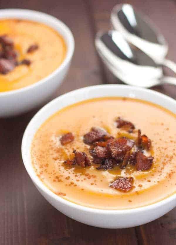 Paleo Slow Cooker Sweet Potato Soup