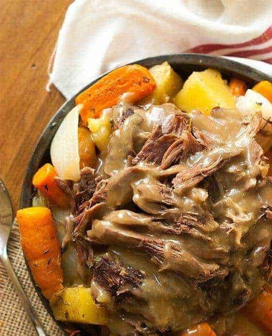 Paleo Pot Roast Crock Pot Recipe