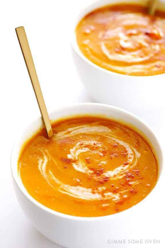 Paleo Slow Cooker Butternut Squash Soup