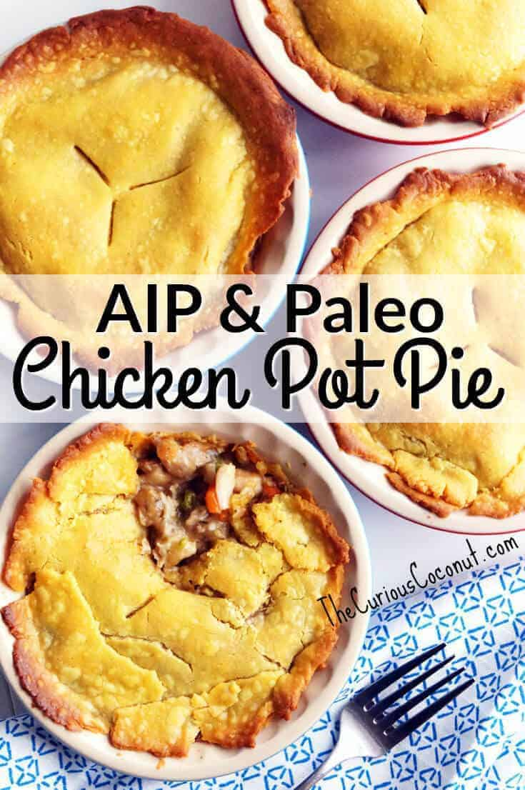 Paleo Perfect And Aip Chicken Pot Pie