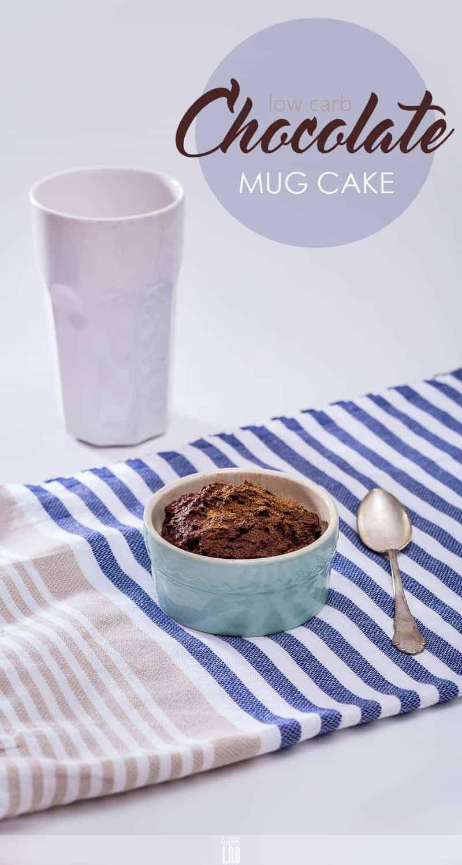 Low-Carb Chocolate Mug Cake