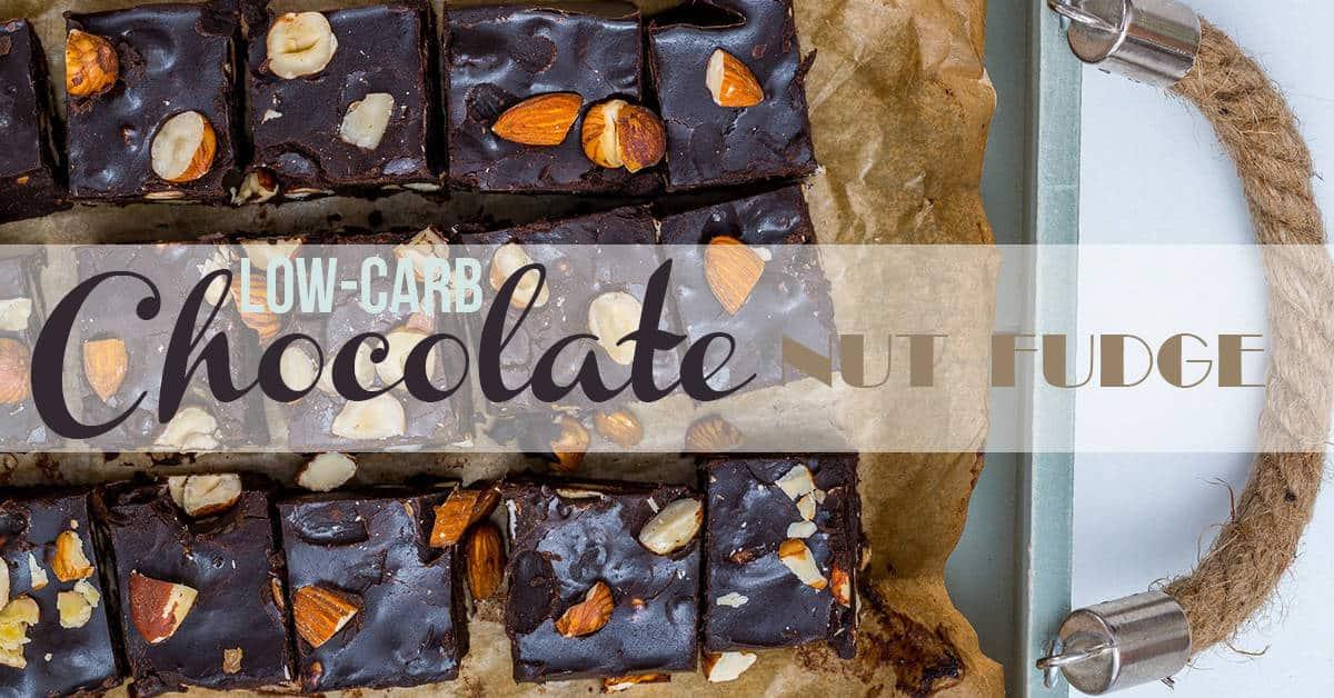 Low-Carb Chocolate-Nut Fudge