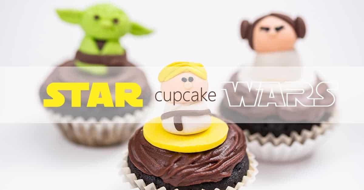 Low-Carb Star Wars Cupcake