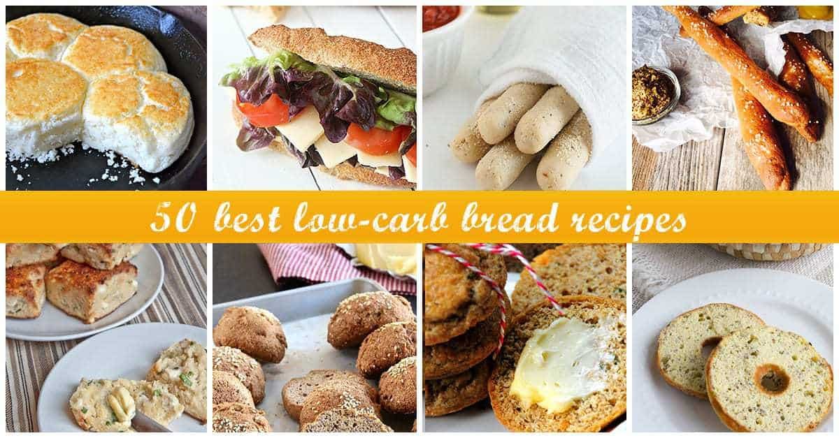 Best Low-Carb Bread Recipes