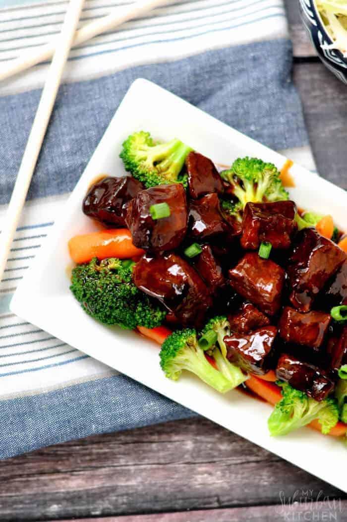 Paleo Crockpot Mongolian Beef