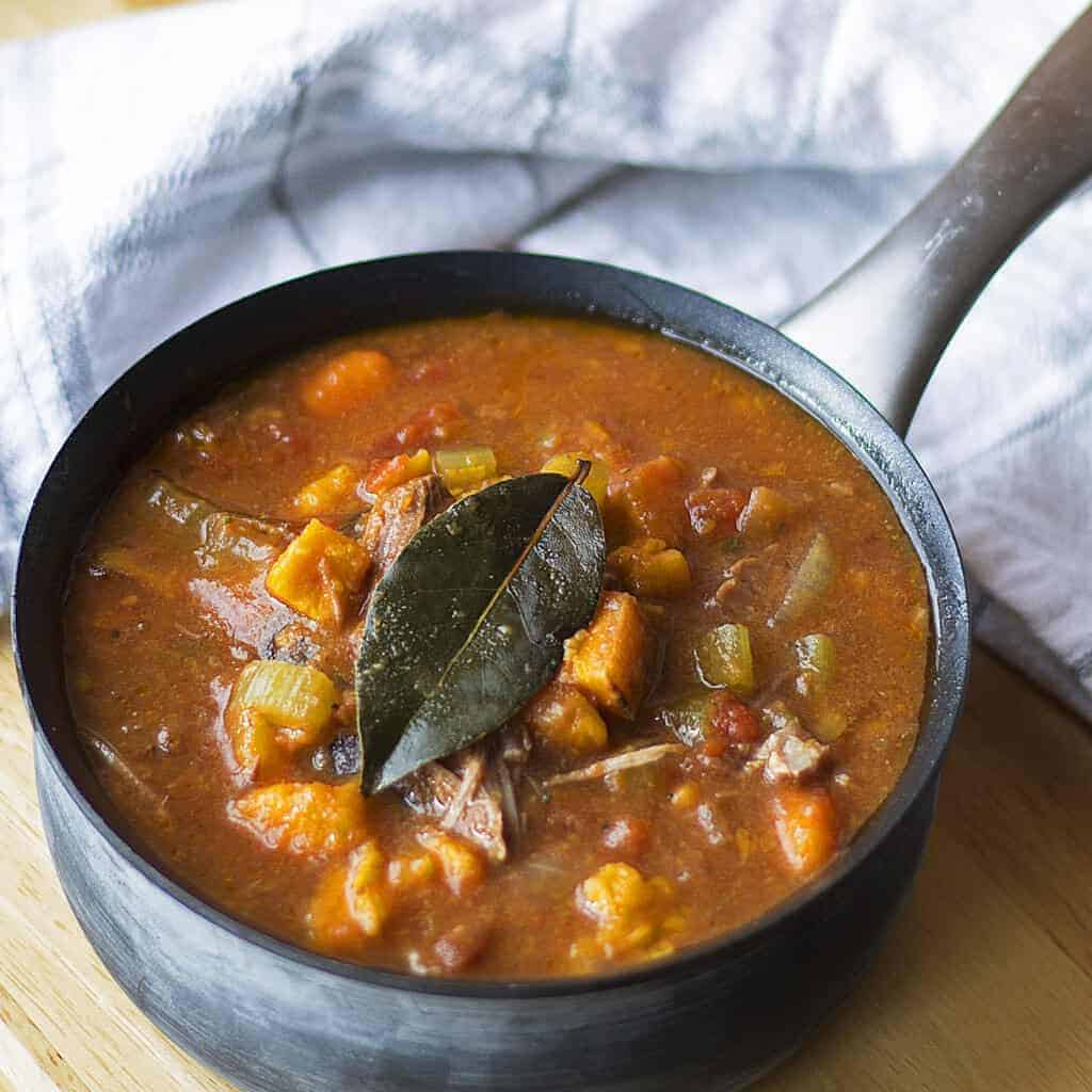 Sweet Potato and Beef Stew