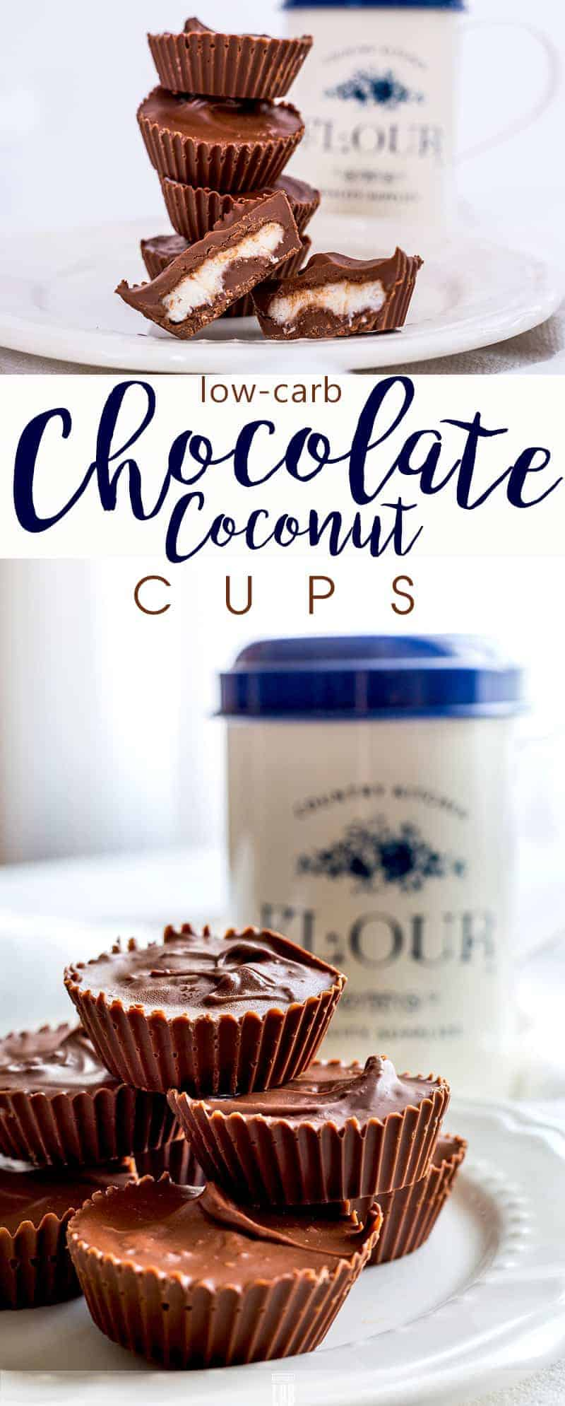 Low-Carb Chocolate-Coconut Cup