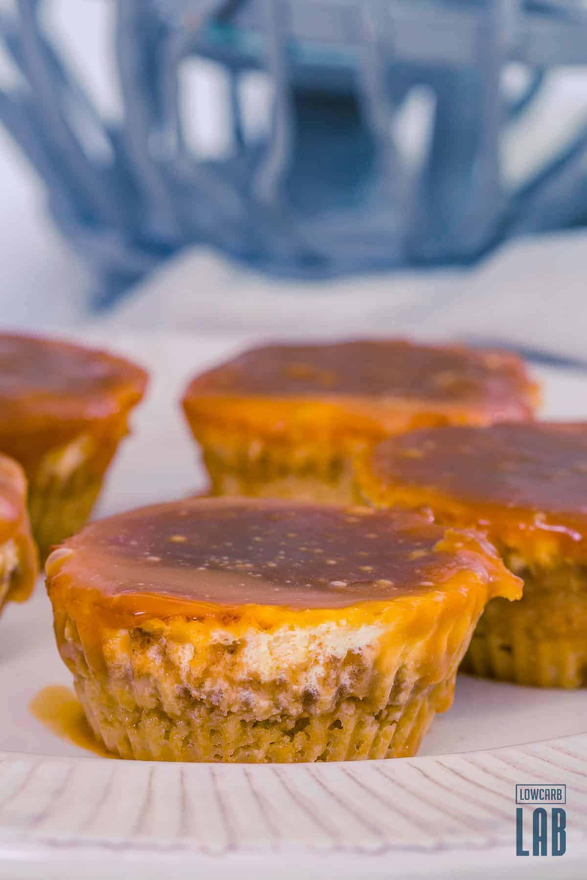 Low-Carb Salted Caramel Cheesecake