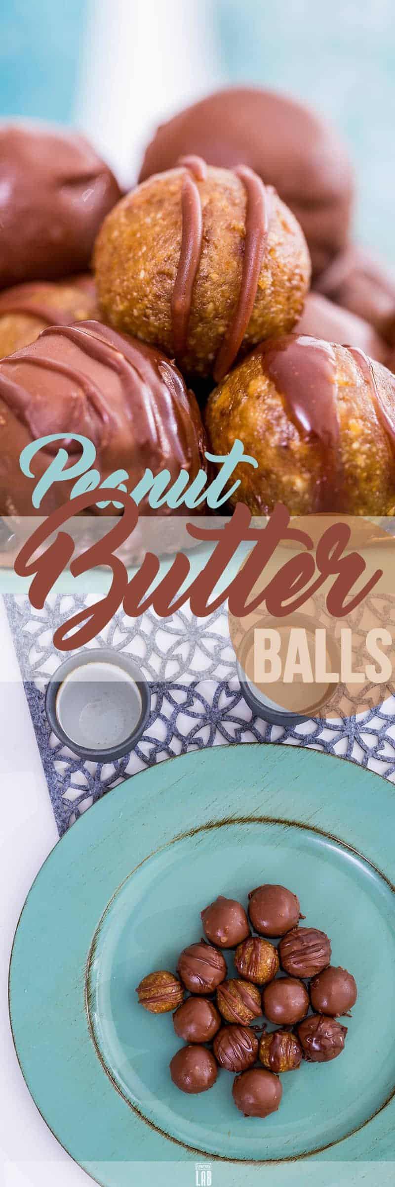Low-Carb Peanut Butter Balls