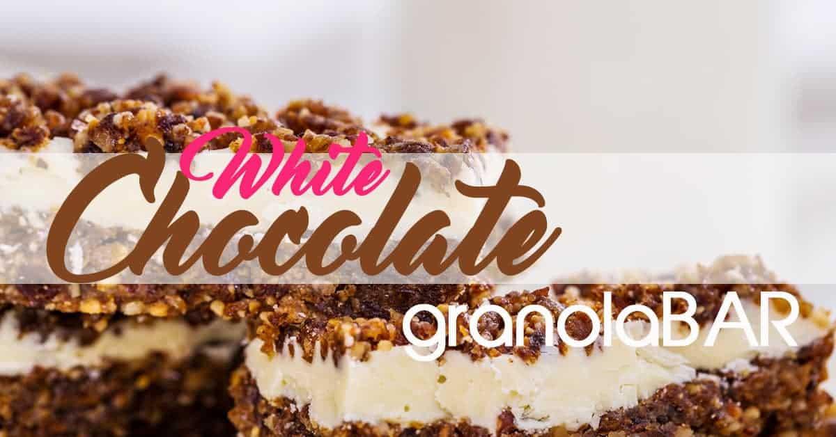 Paleo White-Chocolate Granola Bar